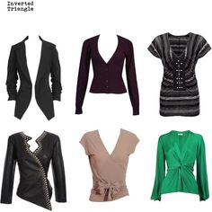 Inverted Triangle - Jackets & Tops