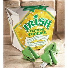Irish Fortune Cookies - Individually wrapped - 8 per pack for $5