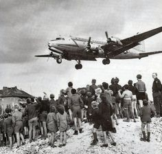 1948 Berlin Airlift — Military forces set-up a land blockade of West Berlin.
