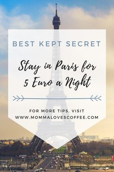 Learn the one of the best budget travel hacks for visiting Paris! Save your money on lodging and have fun spending it on all the wonderful French food...