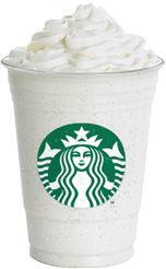 Vanilla Frappuccino Recipe   (just like Starbucks)   2/3 cup milk  2/3 cup ice  2 tsp of vanilla creme powder or vanilla syrup  2 scoops of vanilla bean ice cream  Whipped cream (optinal)