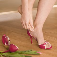 For runners and those who wear high heels, these are some important stretches for your feet.