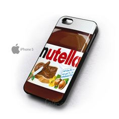 Nutella iphone 5 case. Shut up and take my money!