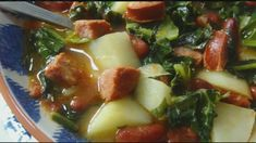 Portuguese Kale Soup recipe from Tia Maria's Blog