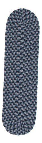 Colonial Mills Boston Common - Winter Blues Stair Tread (single) by Colonial Mills. $19.00. Wool-blend. Durable. Reversible. 65 Polyester/35Wool. A festive blend of traditional and trend-setting colors puts a vibrant stamp on any decor. Reversible for twice the wear. Made in the USA. Dimensions:8 x 28 x 0.5 inches Some assembly may be required. Please see product details.