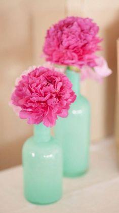 Mint & Pink