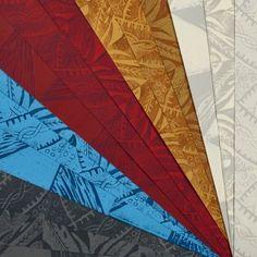 Hand Printed Wallpaper Roll (Windmill) (Cornflower Blue)