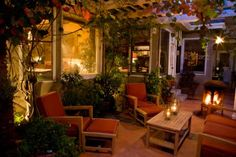 Home Ideas For > Simple Outdoor Living Spaces