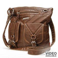 Unionbay Pocketed Crossbody Bag