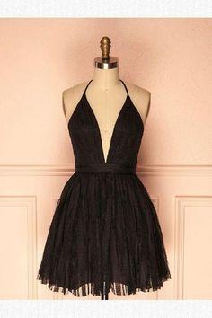Custom Made Admirable Homecoming Dresses, Homecoming Dresses Black · HotProm · Online Store Powered by Storenvy Elegant Dresses, Pretty Dresses, Beautiful Dresses, Pretty Outfits, Hoco Dresses, Homecoming Dresses, Formal Dresses, Belted Dress, Mannequins