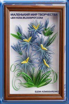 Мастер-класс по квиллингу: Петельчатые хризантемы