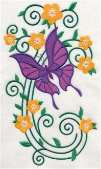 Burst Of Spring Butterfly