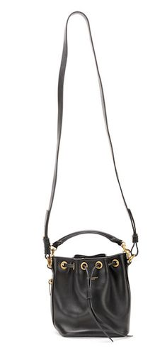 Saint Laurent Small Bucket Crossbody Bag