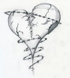 Broken heart drawings broken heart by dravek on deviantart d Broken Heart Drawings, Broken Heart Tattoo, Heart Broken, Bleeding Heart Tattoo, Broken Heart Pictures, Bleeding Hearts, Broken Hearted, Sad Drawings, Pencil Art Drawings