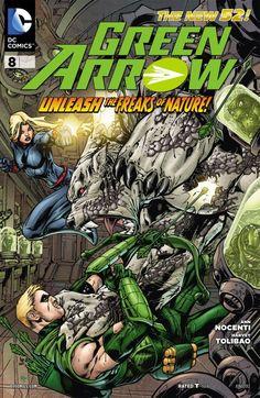 Green Arrow #8 #GreenArrow #New52 #DC
