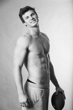 Derek Theler, stop being drop dead gorgeous.