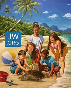 Eagerly waiting Life In Paradise, Paradise On Earth, Jehovah Paradise, Isaiah 65, Jehovah S Witnesses, Jehovah Witness, Paradise Pictures, Jw Humor, Bible Truth