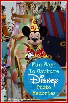 Fun tips & tricks for capturing great Disney Photo Memories on your next Walt Disney World vacation
