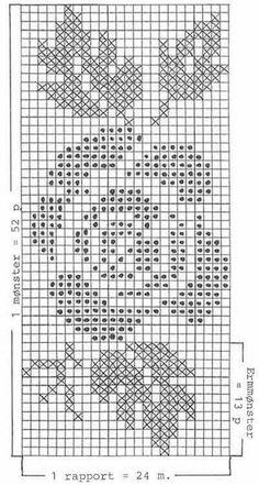 """DROPS rose-mønstret bluse i Paris Gratis opskrifter fra DROPS Design.DROPS jumper with rose pattern in """"Paris"""". ~ DROPS Design can be used for 24 tablets brocadingDROPS Pullover mit Rosen-Jacquardmuster in ParisKira scheme crochet: Scheme croche Filet Crochet Charts, Knitting Charts, Knitting Stitches, Knitting Patterns Free, Free Pattern, Free Knitting, Crochet Flower Patterns, Crochet Motif, Crochet Flowers"""
