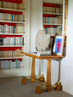 David Netto via Mark D. Ladder Bookcase, Bookshelves, New Orleans Decor, Interior Decorating, Interior Design, Cozy Corner, Architecture Details, Interior Inspiration, Stylish