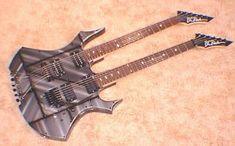 BC Rich Virgin Double Neck Guitars