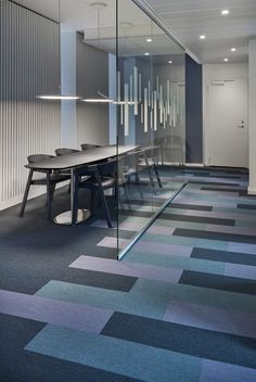 Alm. Brand Bank, Copenhagen, Denmark. Figura concept (planks)