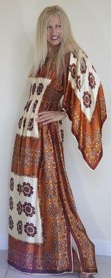 Vintage Silk Scarves Dress