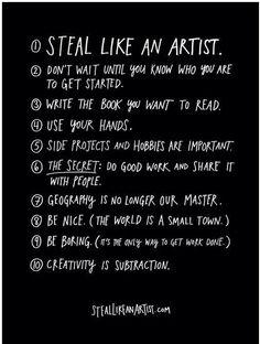 Steal Like An Artist...