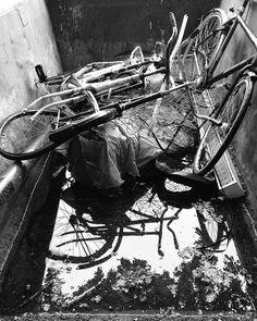 Natuur fietswrakken #mooigooi by boswachter