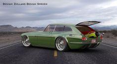 Volvo P1800 ZES Concept 3