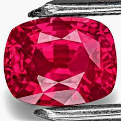 3.30-Carat Top Grade Rich Pinkish Red Unheated Mozambique Ruby
