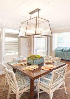 Brooke Wagner Design Dining Room Light