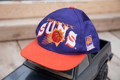 vintage Phoenix Suns snapback hat at VintageSnapbacks.etsy.com