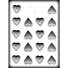 Heart Hard Candy Mold (1-1/8