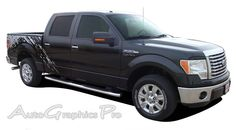 """2009 - 2014 Ford F-150 """"PREDATOR"""" Factory Style Vinyl Decal Graphic Stripes"""