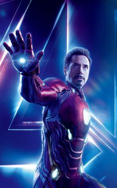 Likely due to it being Robert Downey Jr.'s birthday today, Marvel Studios has just released a character poster for Iron Man in Avengers: Infinity War. Marvel Dc, Marvel Comics, Captain Marvel, Films Marvel, Marvel Heroes, Captain America, Thanos Marvel, Iron Man Avengers, The Avengers