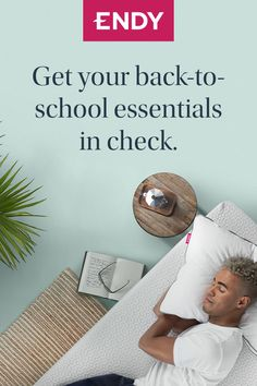 Get an A+ sleep with this year's back to school essential: the Endy Mattress. Click the link to get your snooze on. Back To School Essentials, Comfort Mattress, Your Back, You Got This, Sleep, Link