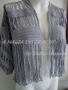 THE MAGIC OF CROCHET: Bolero Angelica