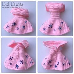 Doll Dress for my crochet doll @ Rou RouInstagram web viewer online, You can find the most pop photos and users at here Yooying.