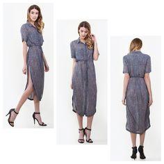 Gigi stripe shirt dress just added to shoppinkconfetti.com