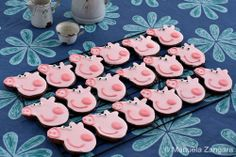 Peppa Pig Chocolate Cookies #PeppaPig #Party