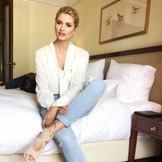 """41.2k Likes, 196 Comments - Lena Gercke (@lenagercke) on Instagram: """"Arrived in Berlin ..ready for some interviews 💫"""""""