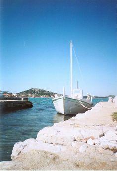 Gajeta - traditional Croatian boat. #gajeta #boat #croatia