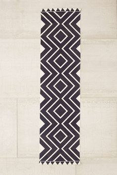 Assembly Home Diamante Geo Printed Runner Rug