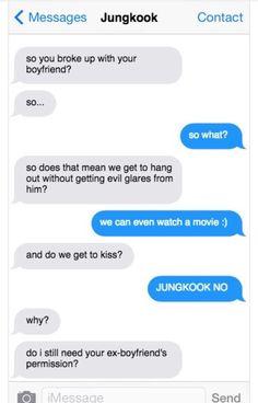 Jungkook I Golden Maknae l Jeon Jungkook ❤️ Fake Text Message, Bts Snapchats, Swag Words, Bts Texts, Bts Qoutes, Bts Memes Hilarious, Bts Reactions, Bts Imagine, Funny Text Messages