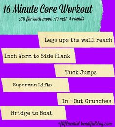 16 minute Ab workout from Bendifulblog.com #fitfluential #girlsgonesporty #inspiringfitness