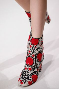 Ankle Boots Valentino Spring Summer 2015; Found on http://www.style.com/