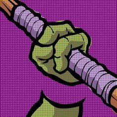 Lichtenstein Pop Martial Art Set by Butcher Billy