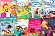 News Blog, Story Time, Puzzles, Literacy, Children, Kids, Insight, Magazine, Illustrations