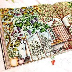 Boa tarde, meus queridos jardineiros e jardineiras!!! A @sheylabrazs consegue se superar a cada colorido!!! Amei mais esse!! Parabéns  Envie sua foto pra nós!! Marque o ig ou use a hashtag #jardimsecretofans